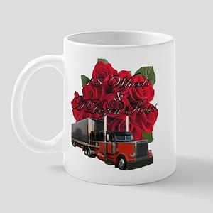 18 Wheels & A Dozen Roses Mug