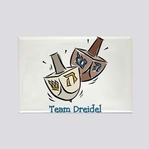 Team Dreidel Rectangle Magnet