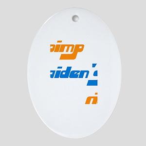 Pimp Aiden's Ride Oval Ornament