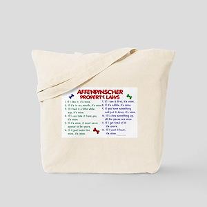 Affenpinscher Property Laws Tote Bag