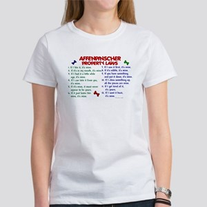 Affenpinscher Property Laws Women's T-Shirt