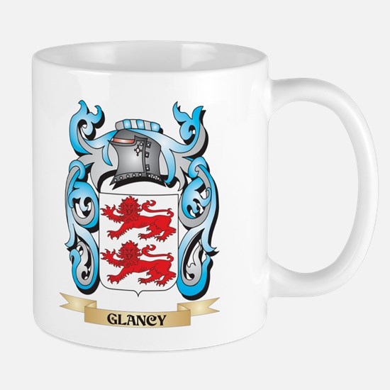 Glancy Coat of Arms - Family Crest Mugs