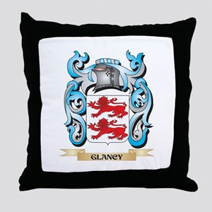 Glancy Coat of Arms - Family Crest Throw Pillow