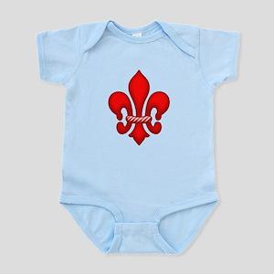 Red Candy Fleur de lis Infant Bodysuit