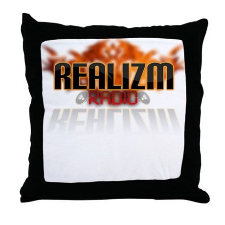 REALIZM Radio - Throw Pillow