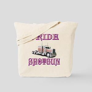 I Ride Shotgun Tote Bag