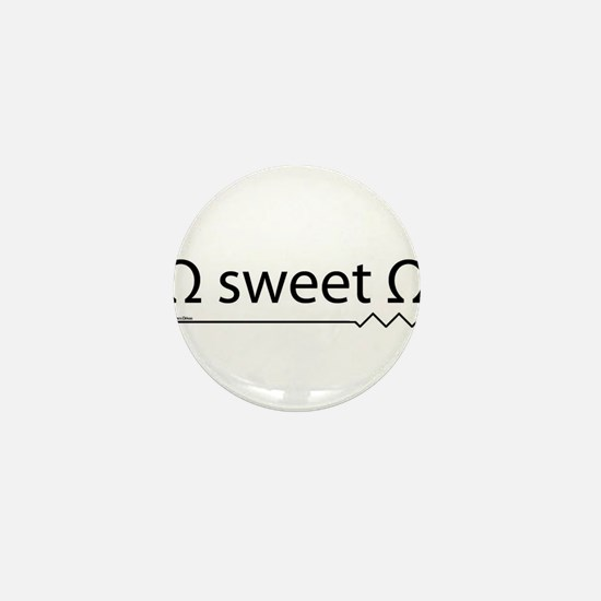 Cute Electrical engineering Mini Button