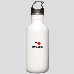 I Love MOMENTS Stainless Water Bottle 1.0L