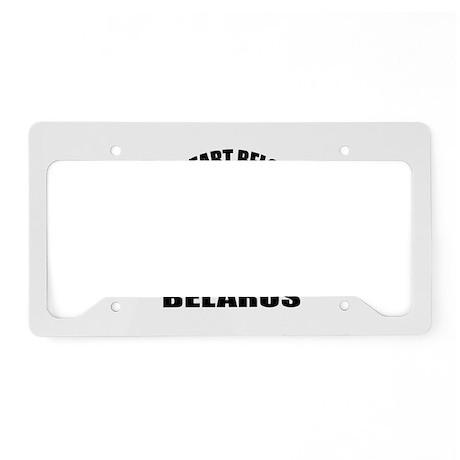 My Heart Belongs To You Belar License Plate Holder