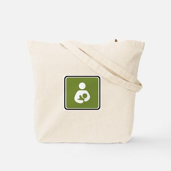 Breastfeeding Symbol Tote Bag