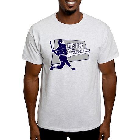 NY Baseball Mr October Light T-Shirt
