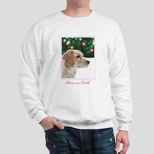 Golden Christmas Sweatshirt