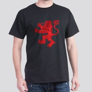 Lion Red Dark T-Shirt