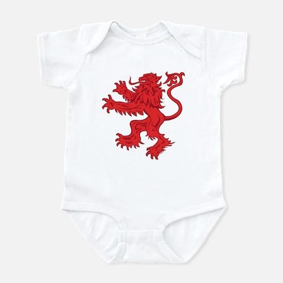 Lion Red Infant Bodysuit