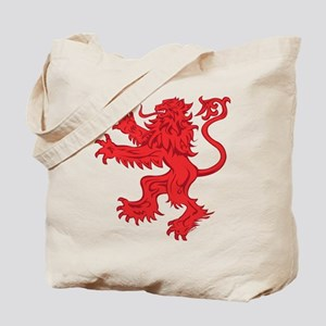 Lion Red Tote Bag
