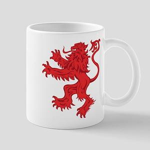 Lion Red 11 oz Ceramic Mug