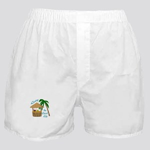 Living The Good Life Boxer Shorts