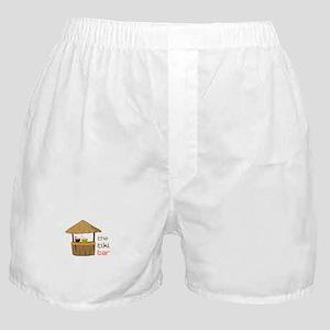 The Tiki Bar Boxer Shorts