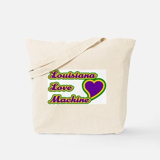 Louisiana Love Machine Tote Bag