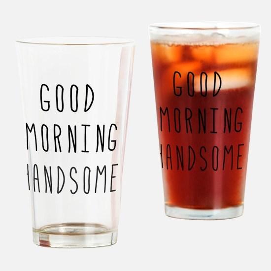 Good Morning Drinking Glass