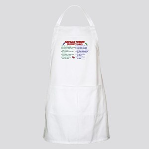 Airedale Terrier Property Laws 2 BBQ Apron
