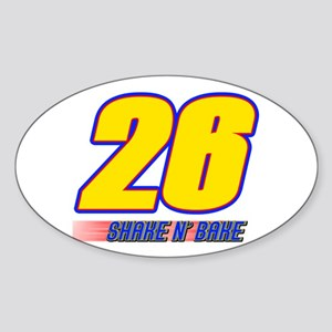 Shake N' Bake Oval Sticker