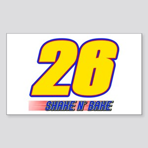 Shake N' Bake Rectangle Sticker