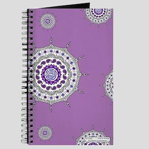 Mehndi Fantasy Silver Journal