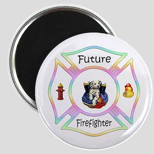 Future Firefighter Pastel Magnet