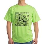 Fire Fly Green T-Shirt