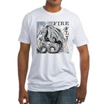 Fire Fly Fitted T-Shirt