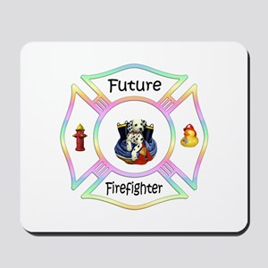 Future Firefighter Pastel Mousepad