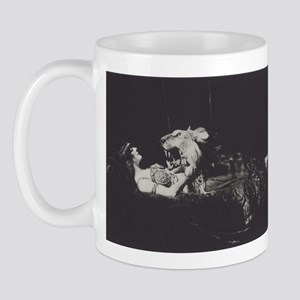 The Lady and the Lion Mug