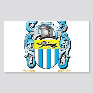 Goldfinch Coat of Arms - Family Crest Sticker