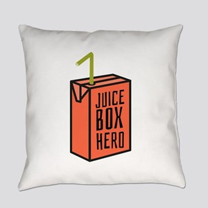 Juice Box Hero Everyday Pillow