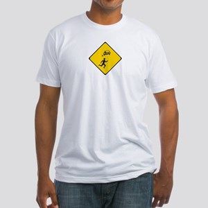 Car Skidding Fitted T-Shirt