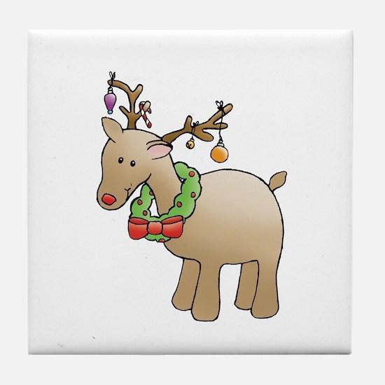 reindeer Tile Coaster