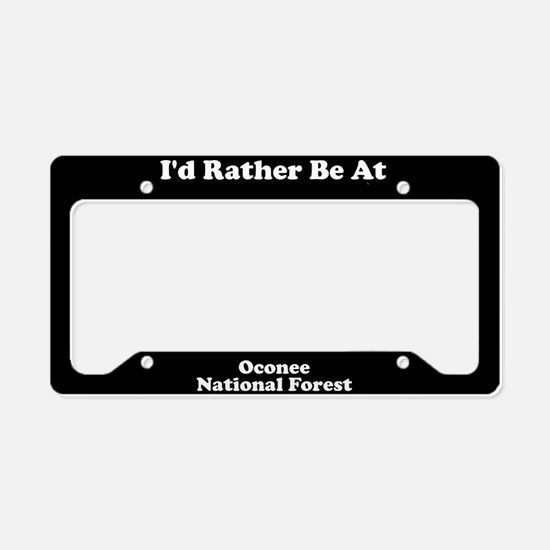 Oconee National Forest - LPF License Plate Holder