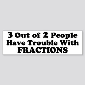 Math Bumper Sticker