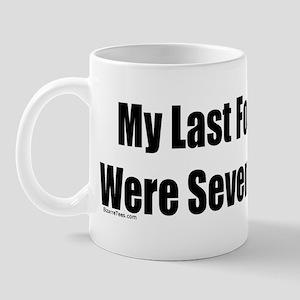 My Last Four Scores Mug