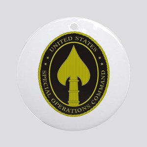 US SPECIAL OPS COMMAND Round Ornament