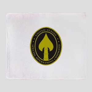 US SPECIAL OPS COMMAND Throw Blanket