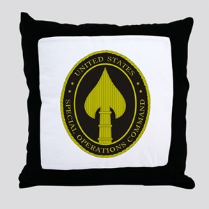 US SPECIAL OPS COMMAND Throw Pillow