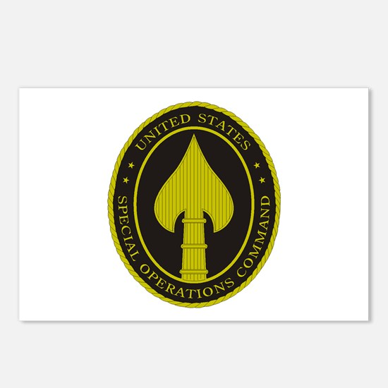 US SPECIAL OPS COMMAND Postcards (Package of 8)