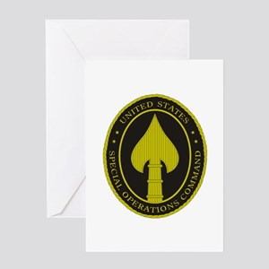 US SPECIAL OPS COMMAND Greeting Cards