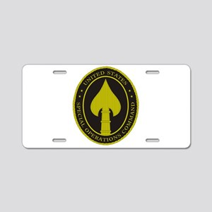 US SPECIAL OPS COMMAND Aluminum License Plate