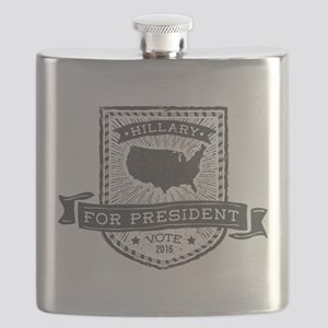 Grunge USA Hillary Flask