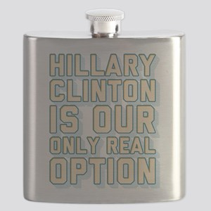 Hillary Only Real Option Flask