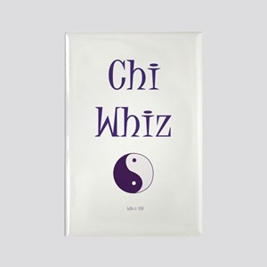 Chi Whiz Rectangle Magnet