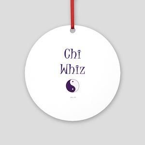 Chi Whiz Ornament (Round)